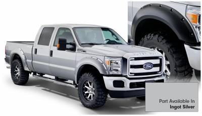 Bushwacker - Bushwacker 20931-52 Bushwacker Painted Pocket Style Fender Flares Ford F-250