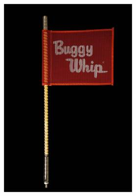 Buggy Whip - Buggy Whip BWLED2AQ 2' LED Safety Whip Light-Amber, Quick Release Mount