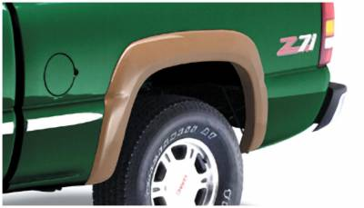 Bushwacker - Bushwacker 40032-02 Extend-a-Fender Rear Fender Flares-Black