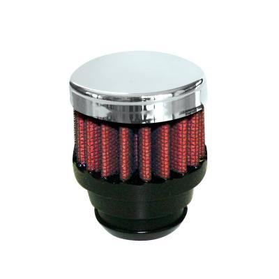 "Airaid - Airaid 775-480 Crankcase Breather Filter 1.25"" OD - Push On 2"" OD 1.5"" Tall"