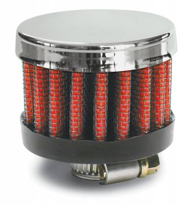 "Airaid - Airaid 775-134 Crankcase Breather Filter .625"" ID - Clamp On 2"" OD 1.5"" Tall"
