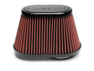 Airaid - Airaid 720-128 Performance Replacement Cold Air Intake Filter Red Oiled Filter