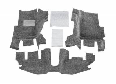 Bed Rug - Bed Rug BRTJ97F BedRug Classic Carpeted Floor Liner-Front