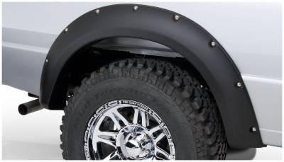 Bushwacker - Bushwacker 21038-02 Pocket Style Rear Fender Flares-Black