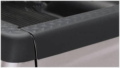 Bushwacker - Bushwacker 49515 Diamondback Rear Tailgate Cap-Black