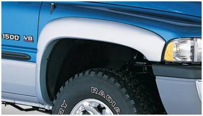 Bushwacker - Bushwacker 50011-02 OE-Style Front Fender Flares-Black