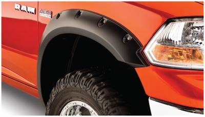 Bushwacker - Bushwacker 50037-02 Pocket Style Front Fender Flares-Black