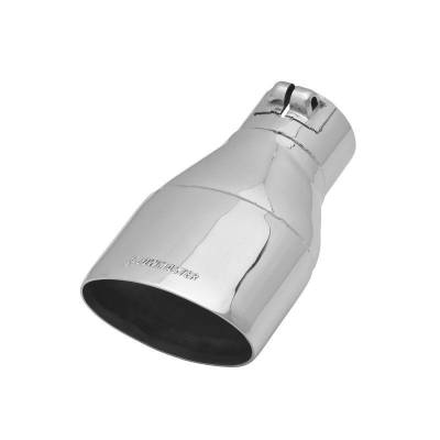 Flowmaster - Flowmaster 15383 Exhaust Pipe Tip Oval Polished Stainless Steel