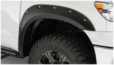 Bushwacker - Bushwacker 30023-02 Pocket Style Front Fender Flares-Black