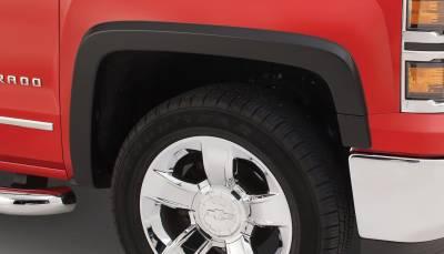 Bushwacker - Bushwacker 40113-02 OE-Style Front Fender Flares-Black