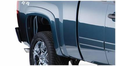 Bushwacker - Bushwacker 40088-02 OE-Style Rear Fender Flares-Black