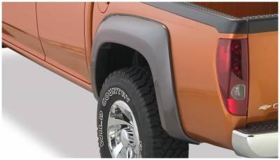 Bushwacker - Bushwacker 41028-02 Extend-a-Fender Rear Fender Flares-Black