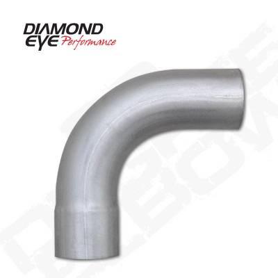 """Diamond Eye - Diamond Eye 529020 Elbow 4"""" 90 Degrees Aluminized"""