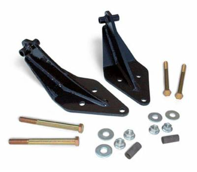 Rough Country Suspension Systems - Rough Country 1402 Dual Front Shock Mount Kit