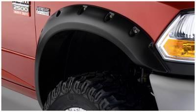 Bushwacker - Bushwacker 50047-02 Pocket Style Front Fender Flares-Black