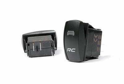 Rough Country Suspension Systems - Rough Country 709SW LED Backlit Rocker Switch Each
