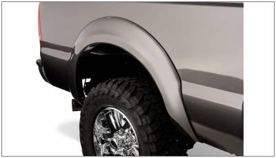 Bushwacker - Bushwacker 20040-02 OE-Style Rear Fender Flares-Black