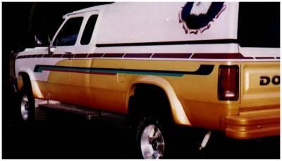 Bushwacker - Bushwacker 50901-01 Extend-a-Fender Front/Rear Fender Flares-Black