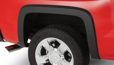 Bushwacker - Bushwacker 40114-02 OE-Style Rear Fender Flares-Black