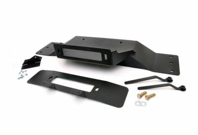 Rough Country Suspension Systems - Rough Country 1010 Hidden Winch Mounting Plate
