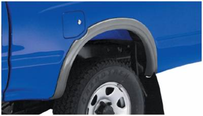 Bushwacker - Bushwacker 31030-11 Extend-a-Fender Rear Fender Flares-Black