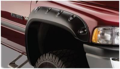 Bushwacker - Bushwacker 50029-02 Pocket Style Front Fender Flares-Black