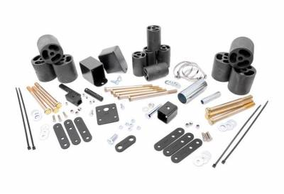 """Rough Country Suspension Systems - Rough Country RC617 3.0"""" Body Lift Kit w/ Manual Transmission"""