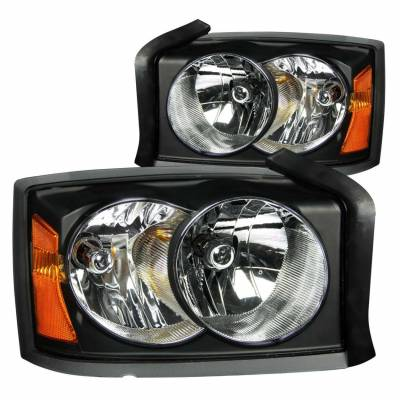 Anzo USA - Anzo USA 111105 Crystal Headlight Set-Black