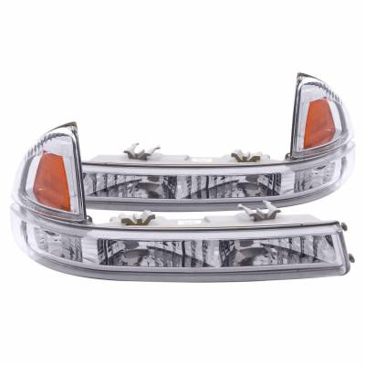 Anzo USA - Anzo USA 511044 Euro Clear Lens Front Corner/Parking Lights