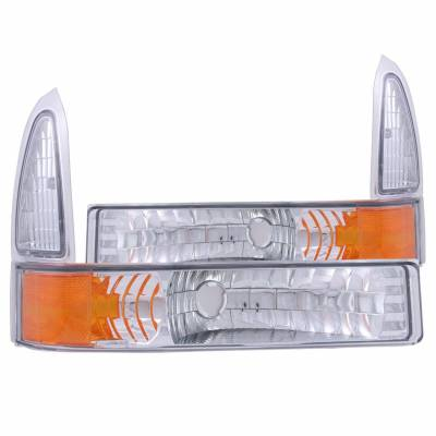 Anzo USA - Anzo USA 511039 Euro Clear Lens Front Corner/Parking Lights