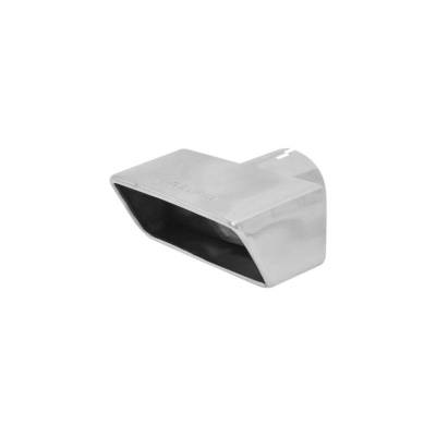 Flowmaster - Flowmaster 15394 Exhaust Pipe Tip Rectangle Polished Stainless Steel