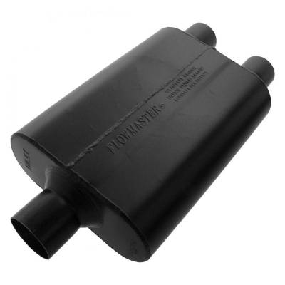 Flowmaster - Flowmaster 9425452 Super 44 Series Muffler, Center/Dual; Aluminized