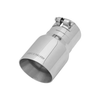 Flowmaster - Flowmaster 15377 Exhaust Pipe Tip Angle Cut Polished Stainless Steel