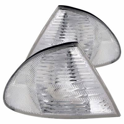 Anzo USA - Anzo USA 521006 Clear Lens Corner Light Set