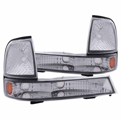 Anzo USA - Anzo USA 511003 Euro Clear Lens Front Corner/Parking Lights