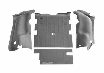 Bed Rug - Bed Rug BTTJ97R BedTred Composite Floor Liner-Rear/Cargo