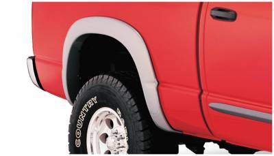 Bushwacker - Bushwacker 50016-02 OE-Style Rear Fender Flares-Black