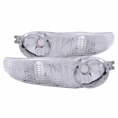 Anzo USA - Anzo USA 511030 Clear Lens Front Turn Signal/Parking Lights