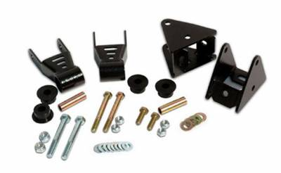 Rough Country Suspension Systems - Rough Country 5061 Front Leaf Srping Shackle Reversal Kit