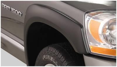 Bushwacker - Bushwacker 50023-02 OE-Style Front Fender Flares-Black