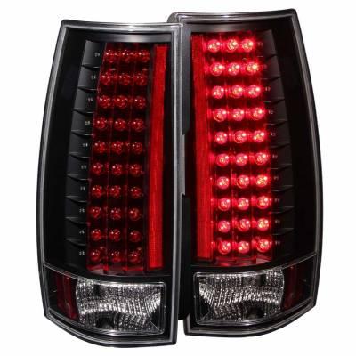 Anzo USA - Anzo USA 311084 Chrome LED Tail Light Set-Clear Lens
