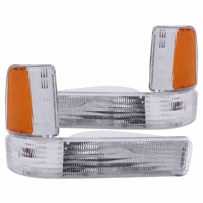 Anzo USA - Anzo USA 511047 Clear Lens Front Corner/Parking Lights