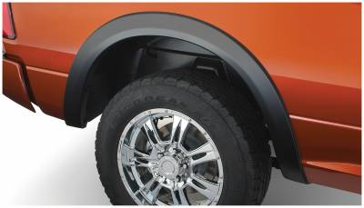 Bushwacker - Bushwacker 50040-02 OE-Style Rear Fender Flares-Black