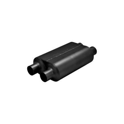 Flowmaster - Flowmaster 8525454 Super 40 Series Muffler, Dual/Dual; Stainless