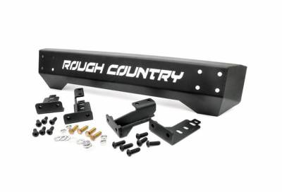 Rough Country Suspension Systems - Rough Country 1011 High Clearance Stubby Front Bumper