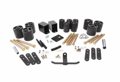 """Rough Country Suspension Systems - Rough Country RC611 3.0"""" Body Lift Kit"""