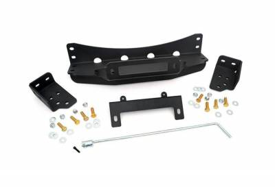 Rough Country Suspension Systems - Rough Country 1080 Hidden Winch Mounting Plate