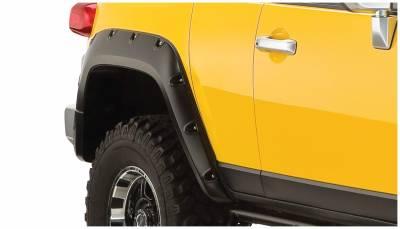 Bushwacker - Bushwacker 31064-02 Pocket Style Rear Fender Flares-Black