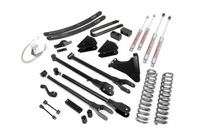 """Rough Country Suspension Systems - Rough Country 584.20 6.0"""" 4-Link Suspension Lift Kit"""