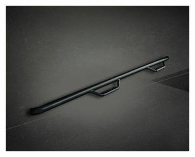 Rough Country Suspension Systems - Rough Country RCD0989CC Wheel to Wheel Nerf Step Bars Black